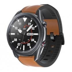 Kožený řemínek premium pro Samsung Galaxy Watch 3 45mm hnědý