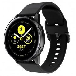 Silikonový řemínek pro Samsung Galaxy Watch Active černý