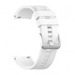 Silikonový řemínek pro Xiaomi Amazfit Stratos 3 bílý