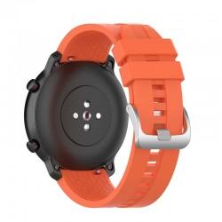 Silikonový řemínek pro Xiaomi Amazfit Stratos 3 oranžový