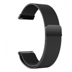 Řemínek Milánský tah pro Xiaomi Amazfit Stratos 3 černý