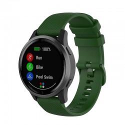 Silikonový řemínek pro Garmin Vivoactive 4s zelený