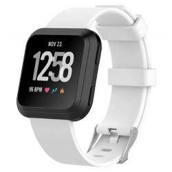 Silikonový řemínek pro Fitbit Versa bílý