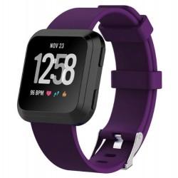 Sportovní silikonový řemínek pro Fitbit Versa 2 fialový