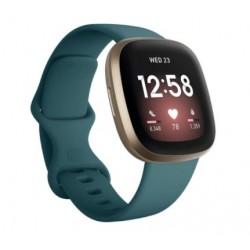 Sportovní silikonový řemínek pro Fitbit Versa 3 světle modrý