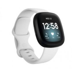 Sportovní silikonový řemínek pro Fitbit Versa 3 bílý