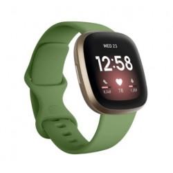 Sportovní silikonový řemínek pro Fitbit Sense zelený