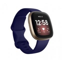 Sportovní silikonový řemínek pro Fitbit Sense modrý