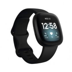 Sportovní silikonový řemínek pro Fitbit Sense černý
