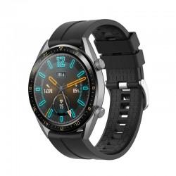 Silikonový řemínek pro Huawei Watch GT 2 Pro černý