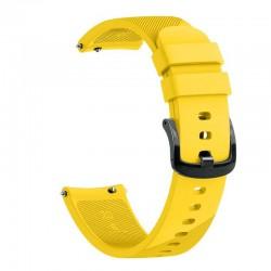 Silikonový řemínek pro Garmin Venu Sq žlutý