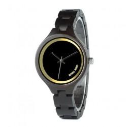 Dámské dřevěné hodinky Bobo Bird WP16 černé