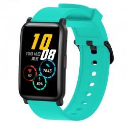 Silikonový řemínek pro Honor Watch ES světle modrý