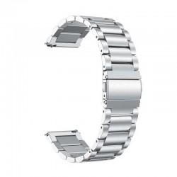 Kovový řemínek pro Honor Watch ES stříbrný