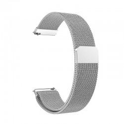 Řemínek Milánský tah pro Honor Watch ES stříbrný