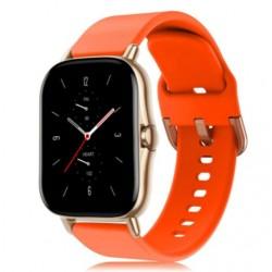 Silikonový řemínek pro Xiaomi Amazfit GTS 2e oranžový