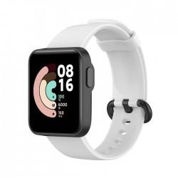 Silikonový řemínek pro Xiaomi Mi Watch Lite bílý
