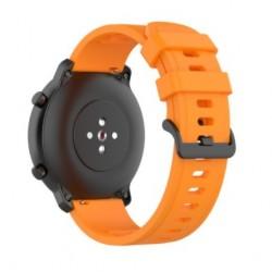 Silikonový řemínek pro Xiaomi Amazfit GTR 2e oranžový