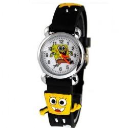 Dětské hodinky s motivem Spongebob černé