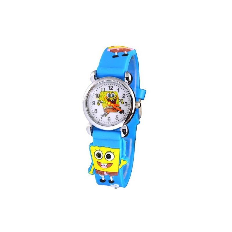 Dětské hodinky s motivem Spongebob modré 716e837008