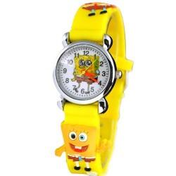 Dětské hodinky s motivem Spongebob žluté