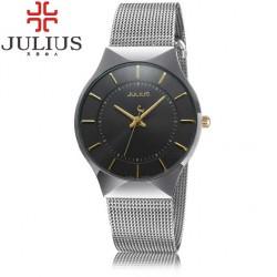 Pánské hodinky Julius JL-02 černo-stříbrné