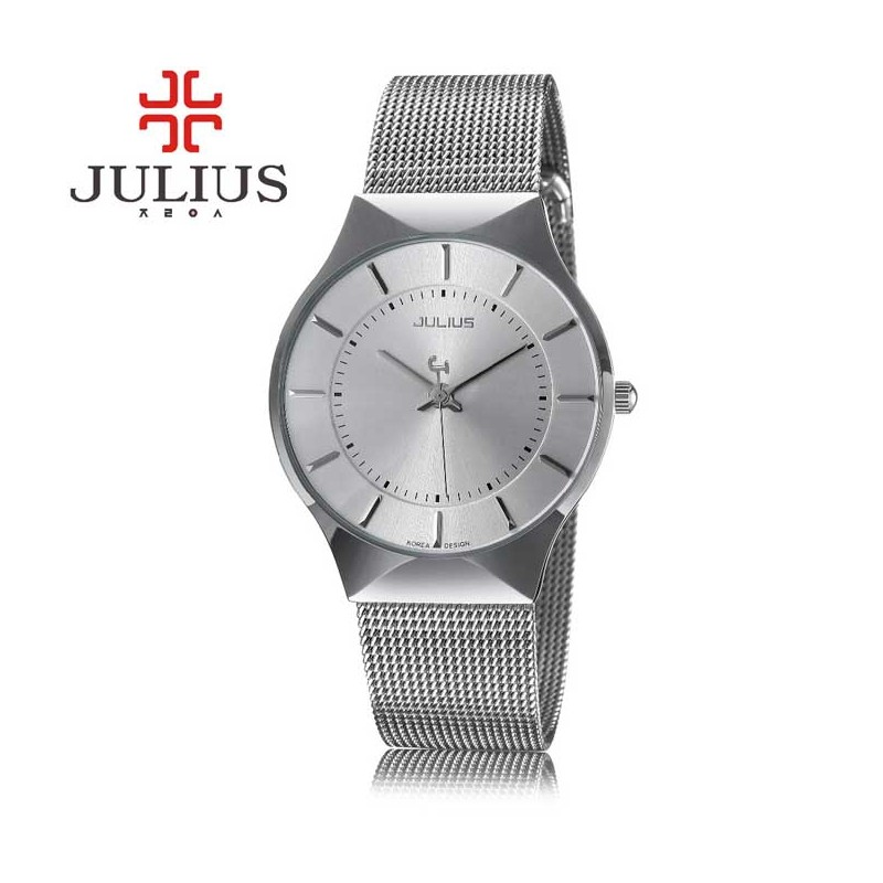 Pánské hodinky Julius JL-02 stříbrné ... e577b3328b