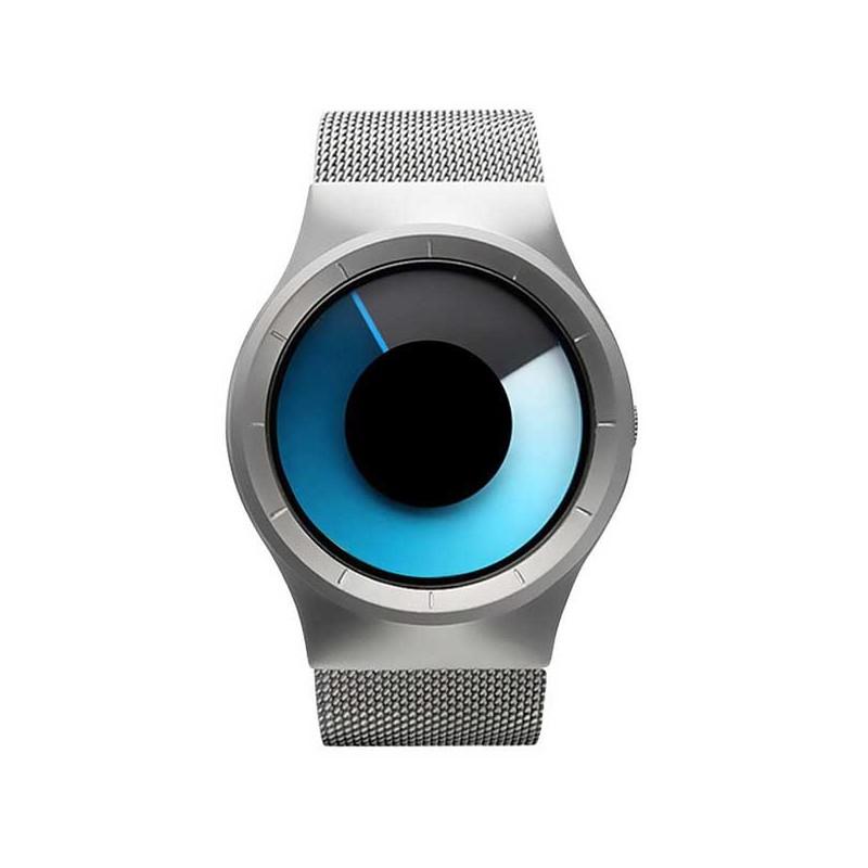 Dámské originální hodinky GeekThink stříbrné 7ae03908b0