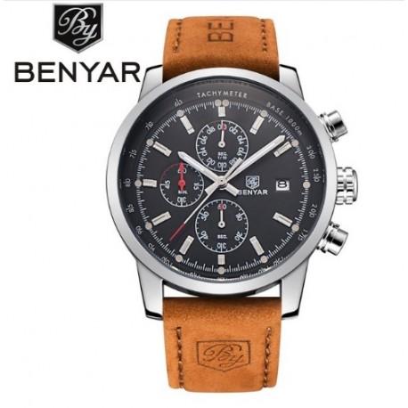 Pánské hodinky Chronograph BENYAR BY-5102M černé