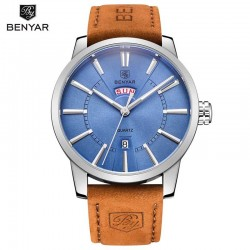 Pánské hodinky BENYAR BY-5101M s modrým ciferníkem