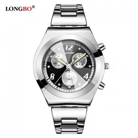 87d78e5140b Dámské hodinky LONGBO 8399 s černým ciferníkem