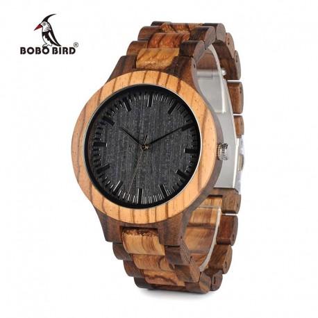 Pánské dřevěné hodinky Bobo Bird D30