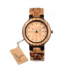 Pánské dřevěné hodinky Bobo Bird WO26 hnědé