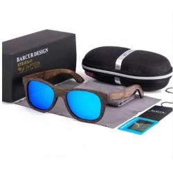 Dřevěné sluneční brýle BARCUR BC8200 modré