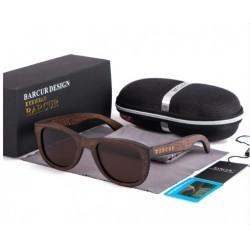 Dřevěné sluneční brýle BARCUR BC8200 hnědé
