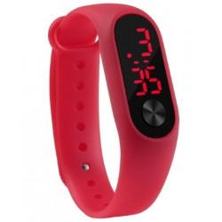 Dětské LED hodinky červené