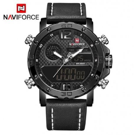 Pánské hodinky NaviForce NF9134BO černo-bílé