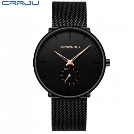 Dámské hodinky CRRJU 2150 černo-růžové bc06baf2bb