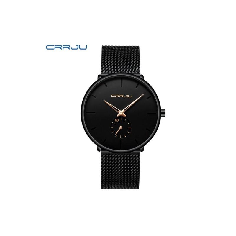 c9d04596597 Dámské hodinky CRRJU 2150 černo-růžové