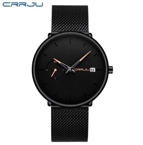 2de18e2817c Dámské hodinky CRRJU 2258 černo-růžové