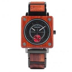 Pánské dřevěné hodinky Bobo Bird Square W-R14-2