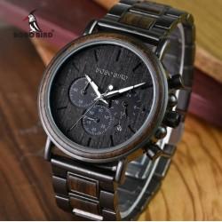 Pánské dřevěné hodinky Bobo Bird Stopwatch W-Q26