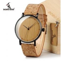 Dámské dřevěné hodinky Bobo Bird Ultra Slim E19