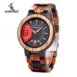 Pánské dřevěné hodinky Bobo Bird W-Q13