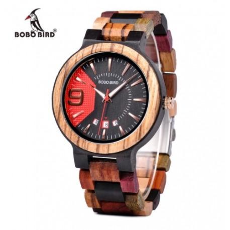 Dámské dřevěné hodinky Bobo Bird W-Q13